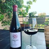 Saperavi ORGO 2017 Produit de vigne du même nom des vignobles de 50 ans appartenant à l'entreprise. Après les vendanges manuelles, et le transport des raisins en petites caissettes, on les trie, à la main également, afin de ne garder que les baies les plus qualitatives.Le vin est produit par la méthode traditionnelle millénaire de Kakheti qui consiste à faire fermenter le raisin pendant 6 mois dans Qvevri